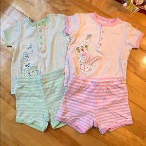 Pajama Sets for 3Y
